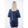 Kép 2/2 - Kék-türkiz mintás ruha
