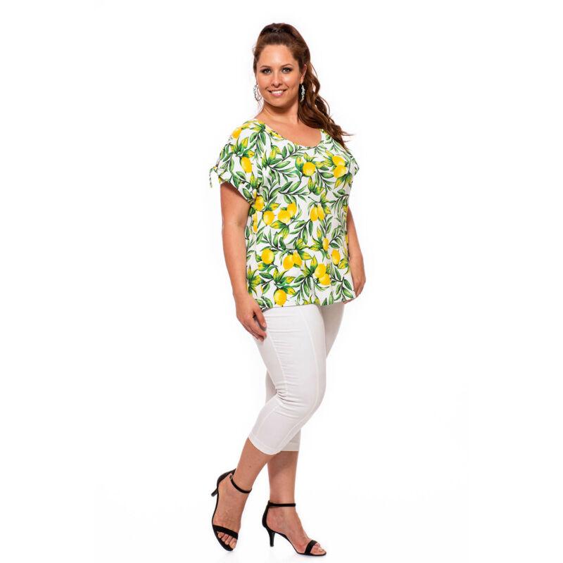 Sylverro Citrom mintás nyári póló