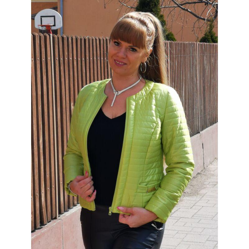 Pisztácia zöld színű kabát 40-es méret