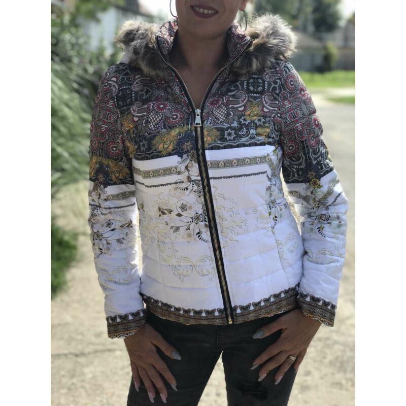 Őszi kapucnis dzseki