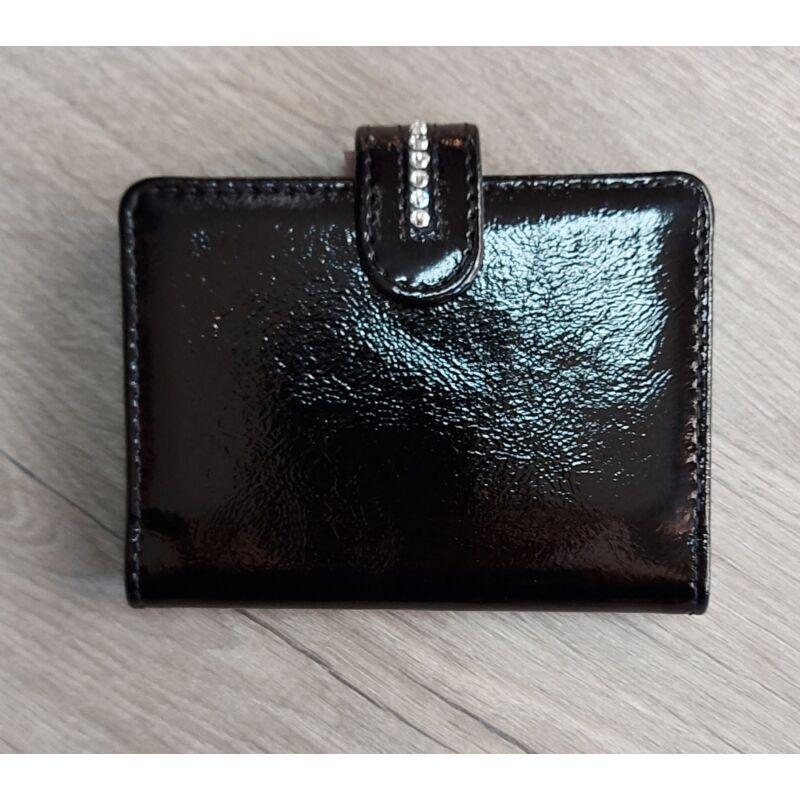 Fekete köves kártya/irattartó