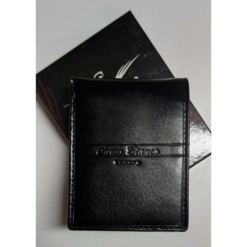 Férfi fekete bőrpénztárca kisebb