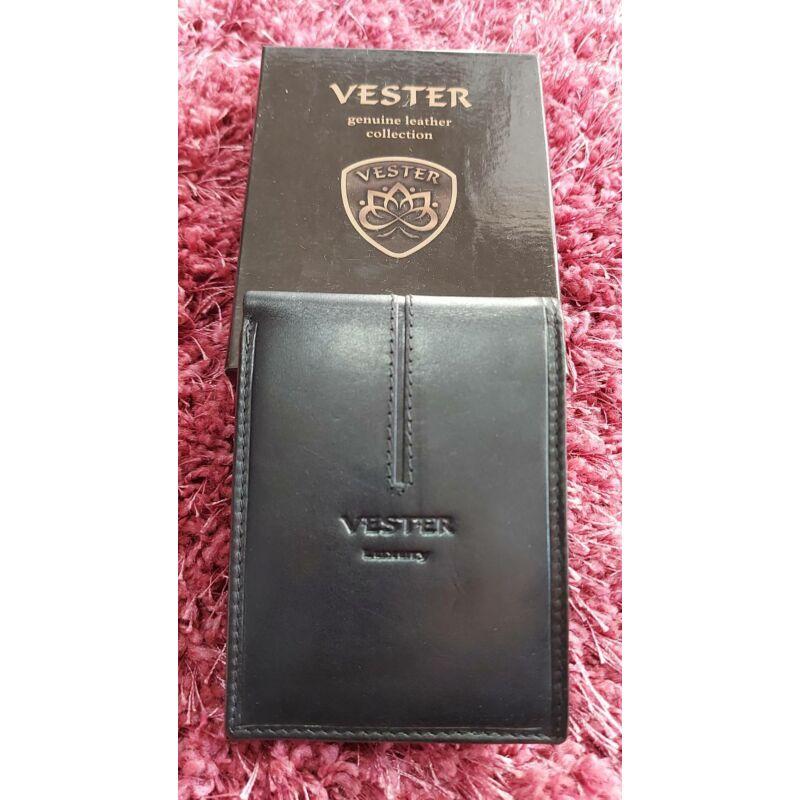 Vester Férfi fekete bőrpénztárca
