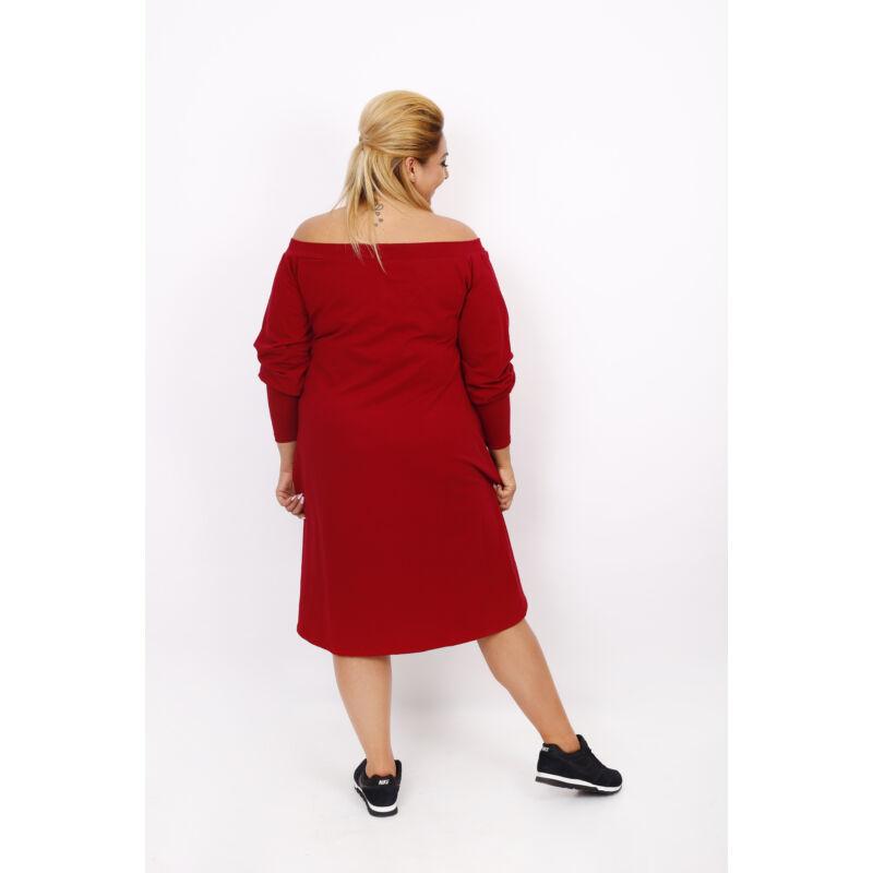 Bordó pamut ruha