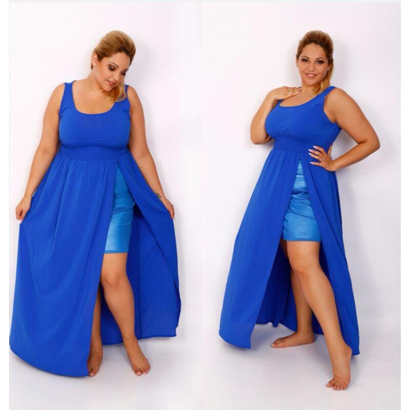 DIVA királykék maxi ruha