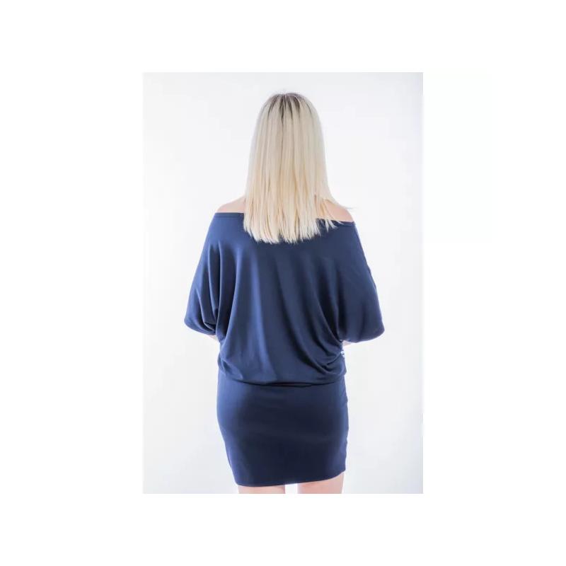 Kék-türkiz mintás ruha