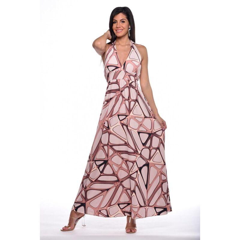 Többféleképpen hordható maxi ruha
