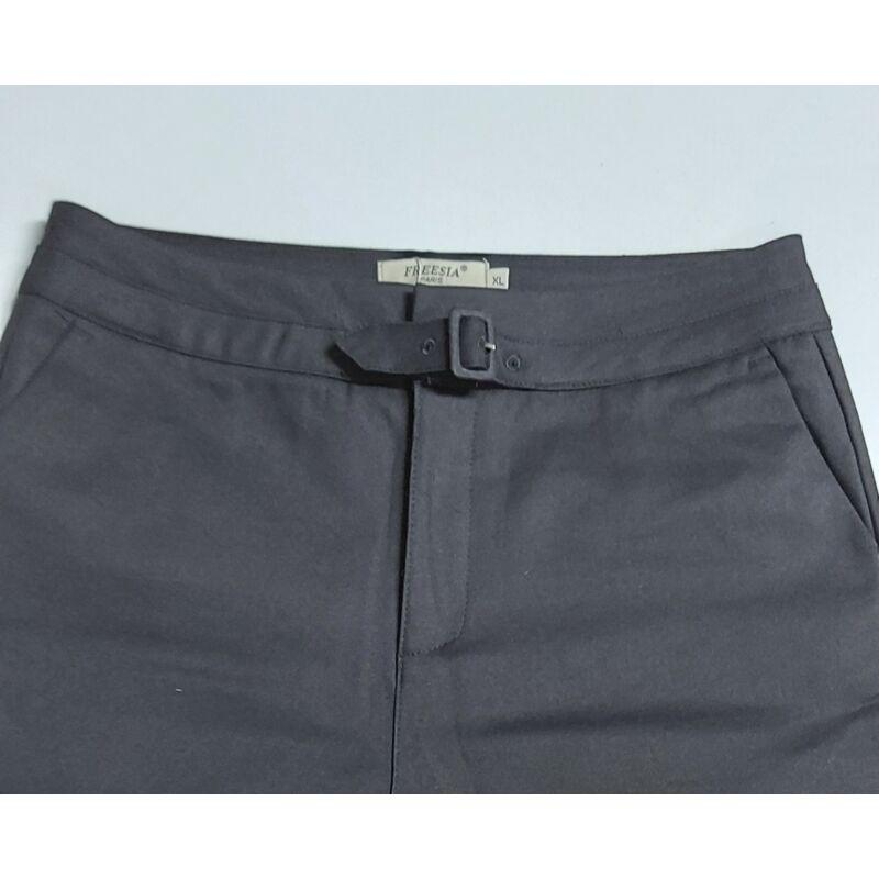 Freesia fekete nadrág  bevarrt övvel XL-es méret