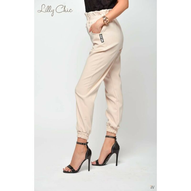 Lilly Chic gumis szárú nadrág