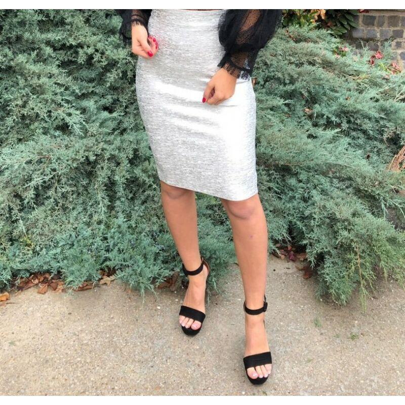 Ezüst alakformáló szoknya